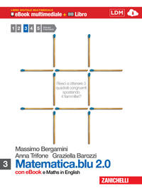 Matematica.blu 2.0. Moduli: S-L. Con Maths in english. Con espansione online. Con DVD-ROM. Vol. 3
