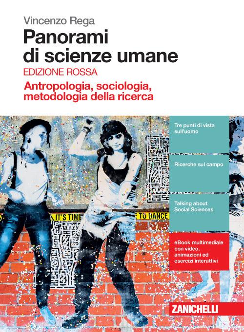 Image of Panorami di scienze umane. Antropologia, sociologia, metodologia d..