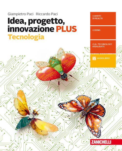 Idea progetto innovazione tecnologia plus disegno con for Progetto online