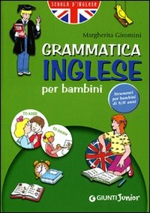 (NUOVO o USATO) Grammatica inglese per bambini 2006