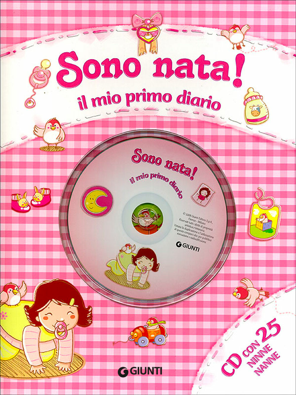 (NUOVO o USATO) Sono nata! Il mio primo diario. Con CD Audio