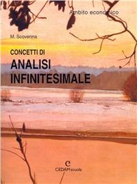 Image of Concetti di analisi infinitesimale. Ambito economico. Per i Licei ..