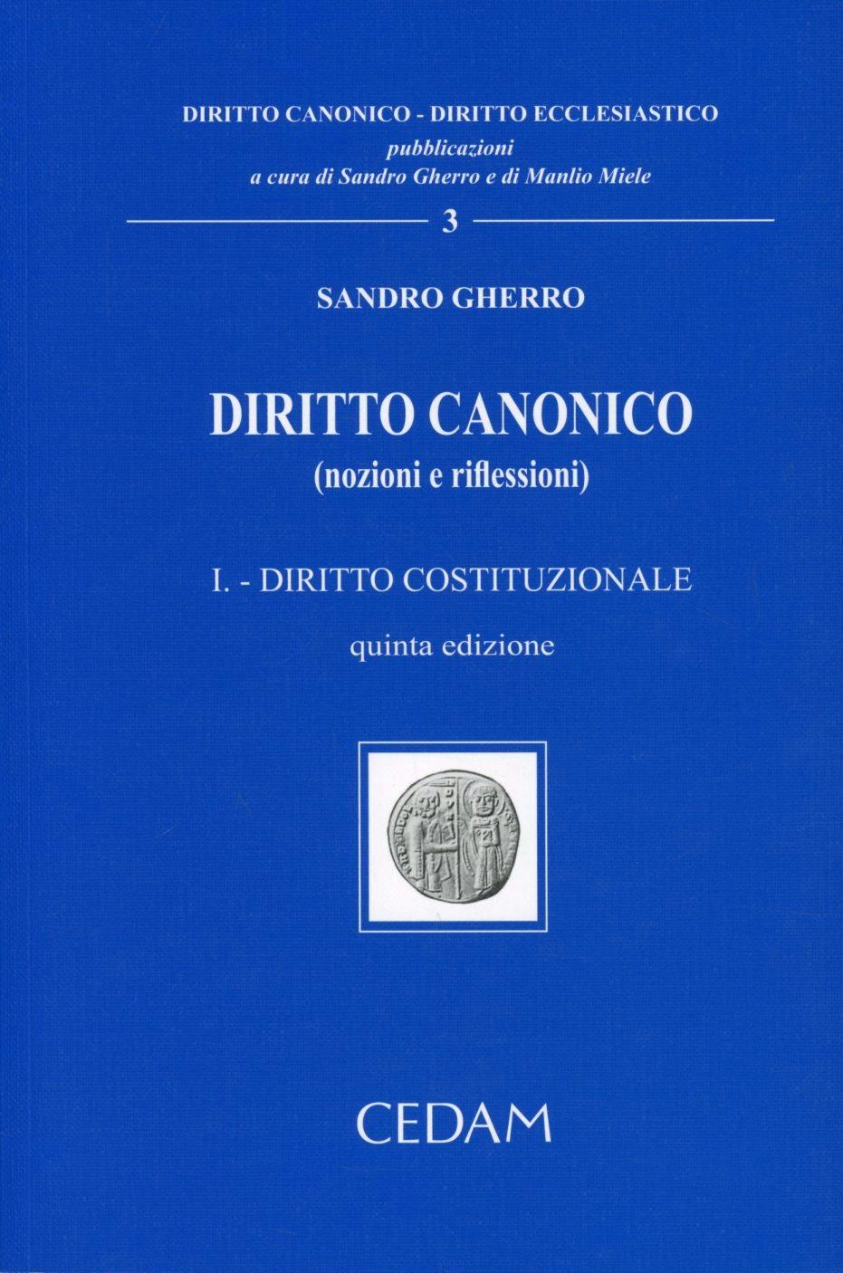 Image of Diritto canonico (nozioni e riflessioni). Vol. 1: Diritto costituz..