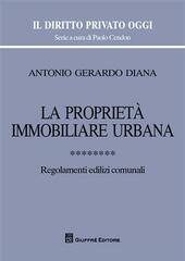 La proprietà immobiliare urbana. Vol. 8