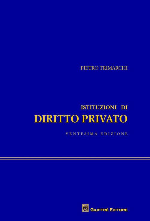 Istituzioni Di Diritto Privato Trimarchi Pdf