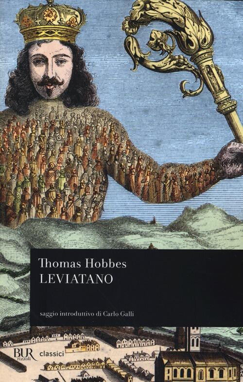 libro leviatano di hobbes in italiano da