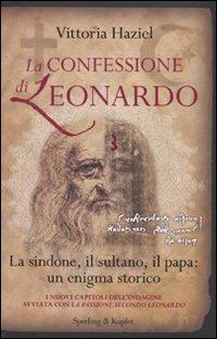Image of (NUOVO o USATO) La confessione di Leonardo. La Sindone, il sultano..