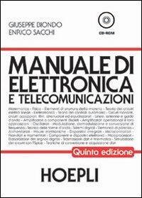 manuale di elettronica e telecomunicazioni industriali giuseppe rh libraccio it manuale di elettronica e telecomunicazioni hoepli usato