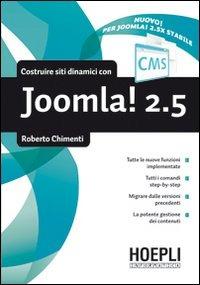 Image of (NUOVO o USATO) Costruire siti dinamici con Joomla 2.5