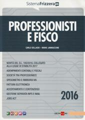 Professionisti e fisco 2016