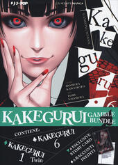 Kakegurui. Gamble Bundle. Con 6 Carte. Twin vol. 1-Kakegurui vol. 6. Con 6 Carte