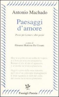 Image of Paesaggi d'amore. Poesie per Leonor e altre poesie. Testo spagnolo..