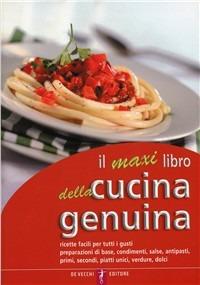 (NUOVO o USATO) Il maxi libro della cucina genuina