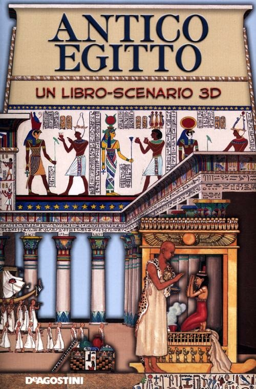 Antico Egitto. Libro pop up
