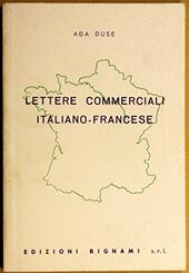 Lettere commerciali italiano-francese