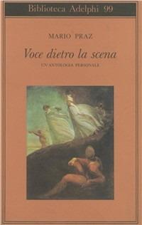 Image of Voce dietro la scena. Un'antologia personale