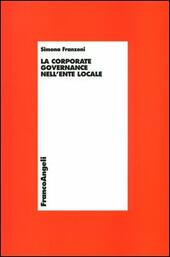 La corporate governance nell'ente locale