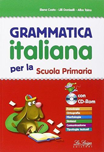 Image of Grammatica italiana. Per la Scuola elemtare. Con CD-ROM
