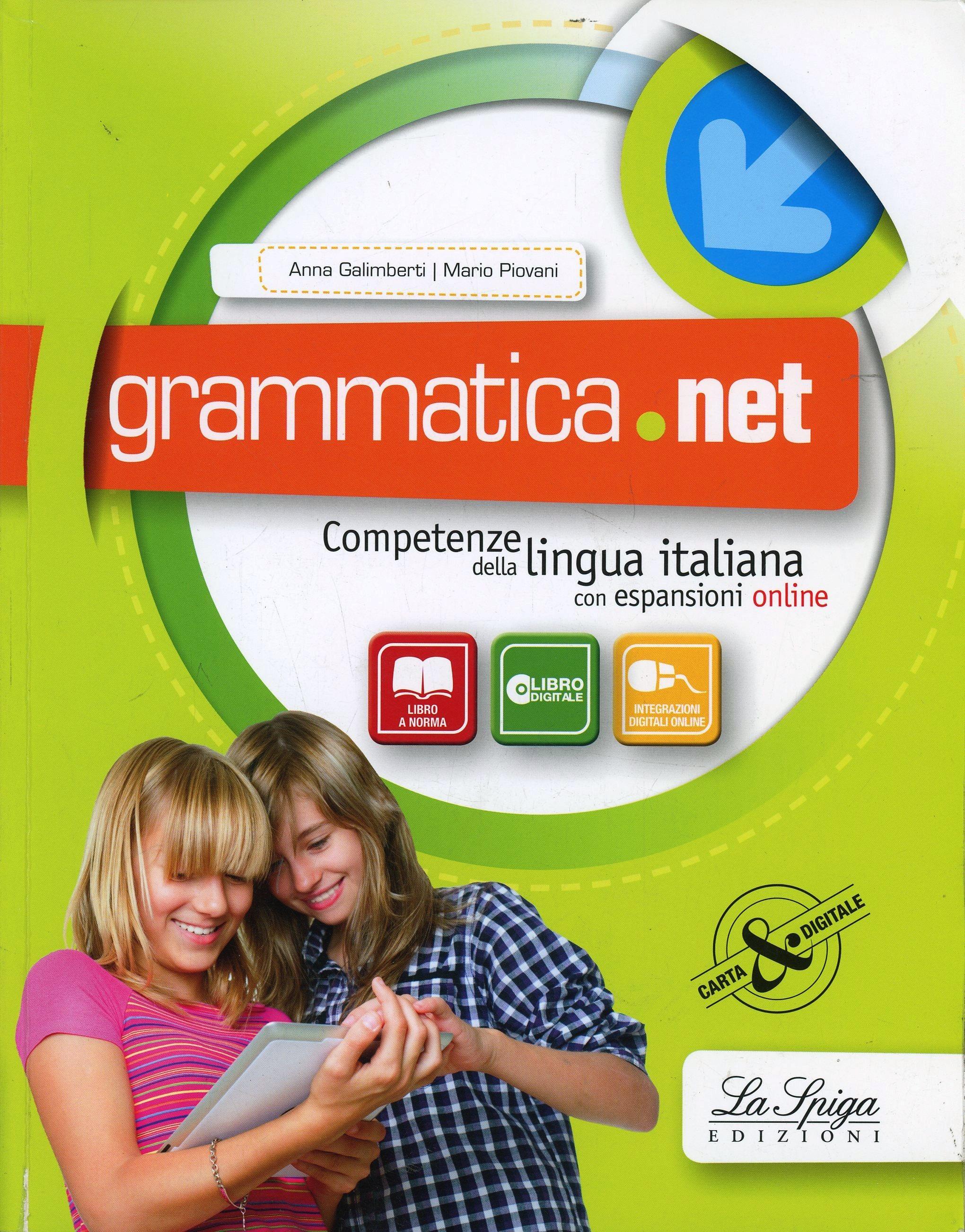 Image of Grammatica.net. Competenze della lingua italiana. Per la Scuola me..