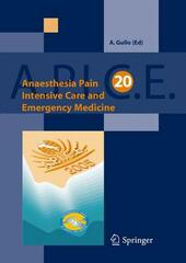 Anaesthesia, pain, intensive care and emergency medicine. Apice
