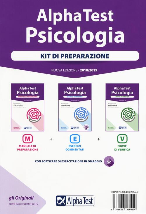Alpha test psicologia kit di preparazione manuale di for Test scienze politiche