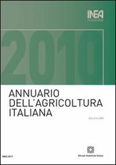 Annuario INEA dell'agricoltura italiana (2010). Con CD-ROM. Vol. 64  Libro - Libraccio.it