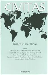 Civitas (2004). Vol. 1: Europa senza confini.  Libro - Libraccio.it