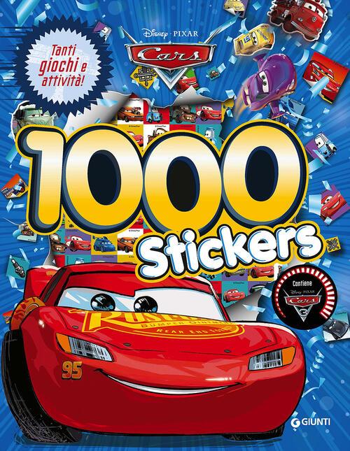 Cars 3 1000 Stickers Con Adesivi Libro Libraccio It