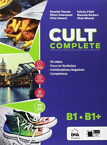 Image of Cult complete. B1-B1+. Student's book-Workbook-Entry book-Prelimin..