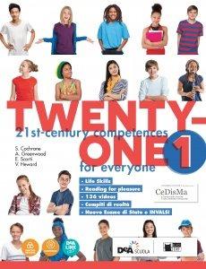 Image of Twenty-one. Student's book-Workbook. Con Map it! Per la Scuola med..