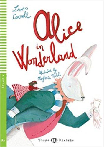 Image of Alice in wonderland. Con CD Audio