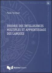 Theorie des intelligences multiples et apprentissage des langues