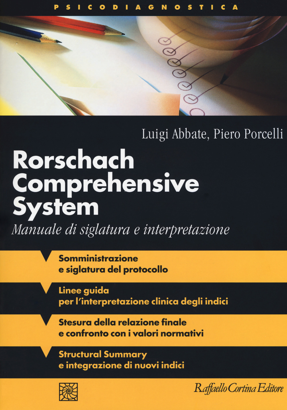Image of Rorschach comprehensive system. Manuale di siglatura e interpretazione