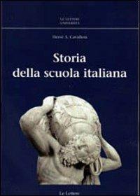 (NUOVO o USATO) Storia della scuola italiana