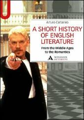 Short history of English literature (A). Vol. 1: From the Middle Ages to the Romantics.