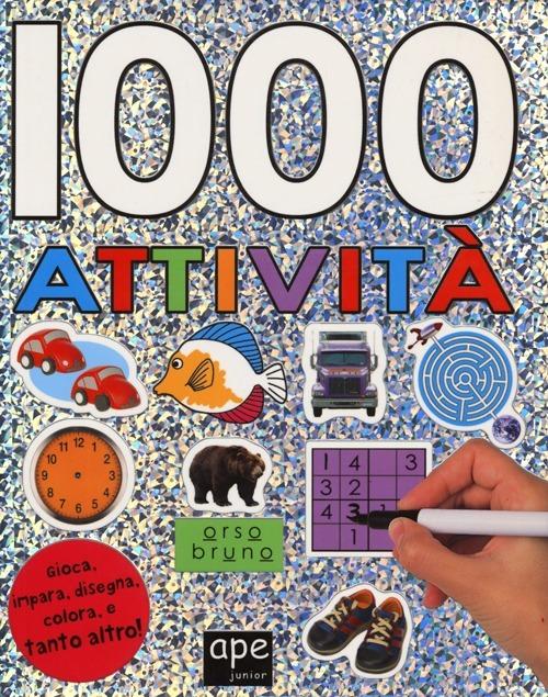 Image of 1000 attività. Con adesivi