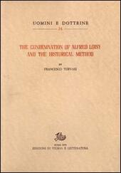 The Condemnation of Alfred Loisy and the historical method