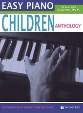 Easy piano children anthology