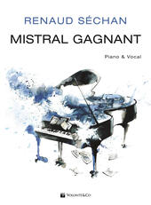 Mistral Gagnant. Piano & vocal