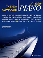 Easy piano. The new composers