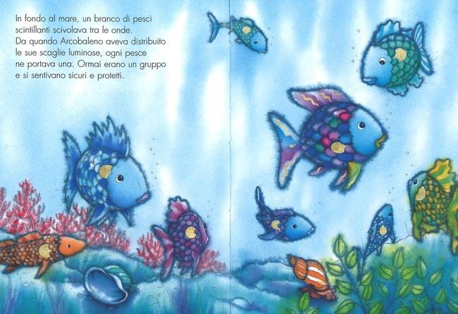 Arcobaleno non lasciarmi solo ediz a colori marcus for Disegni pesciolino arcobaleno