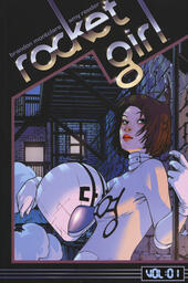 Tempo al quadrato. Rocket Girl. Vol. 1  - Brandon Montclare, Amy Reeder Libro - Libraccio.it