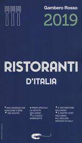 Ristoranti d'Italia del Gambero Rosso 2019  Libro - Libraccio.it