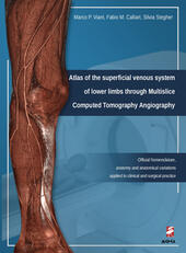 Atlas of the superficial venous system. Of lower limbs through Multislice Computed Tomography Angiography. Ediz. illustrata
