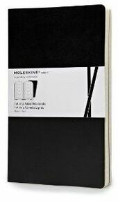 Moleskine Volant Notebooks large a righe Black