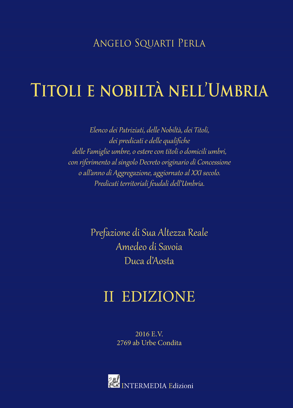 Titoli e nobiltà nell'Umbria
