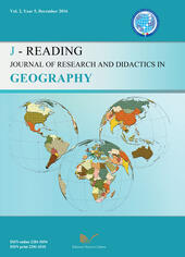 J-Reading. Journal of research and didactics in geography (2016). Vol. 2