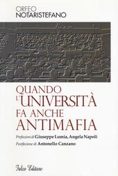 Quando l'università fa anche antimafia