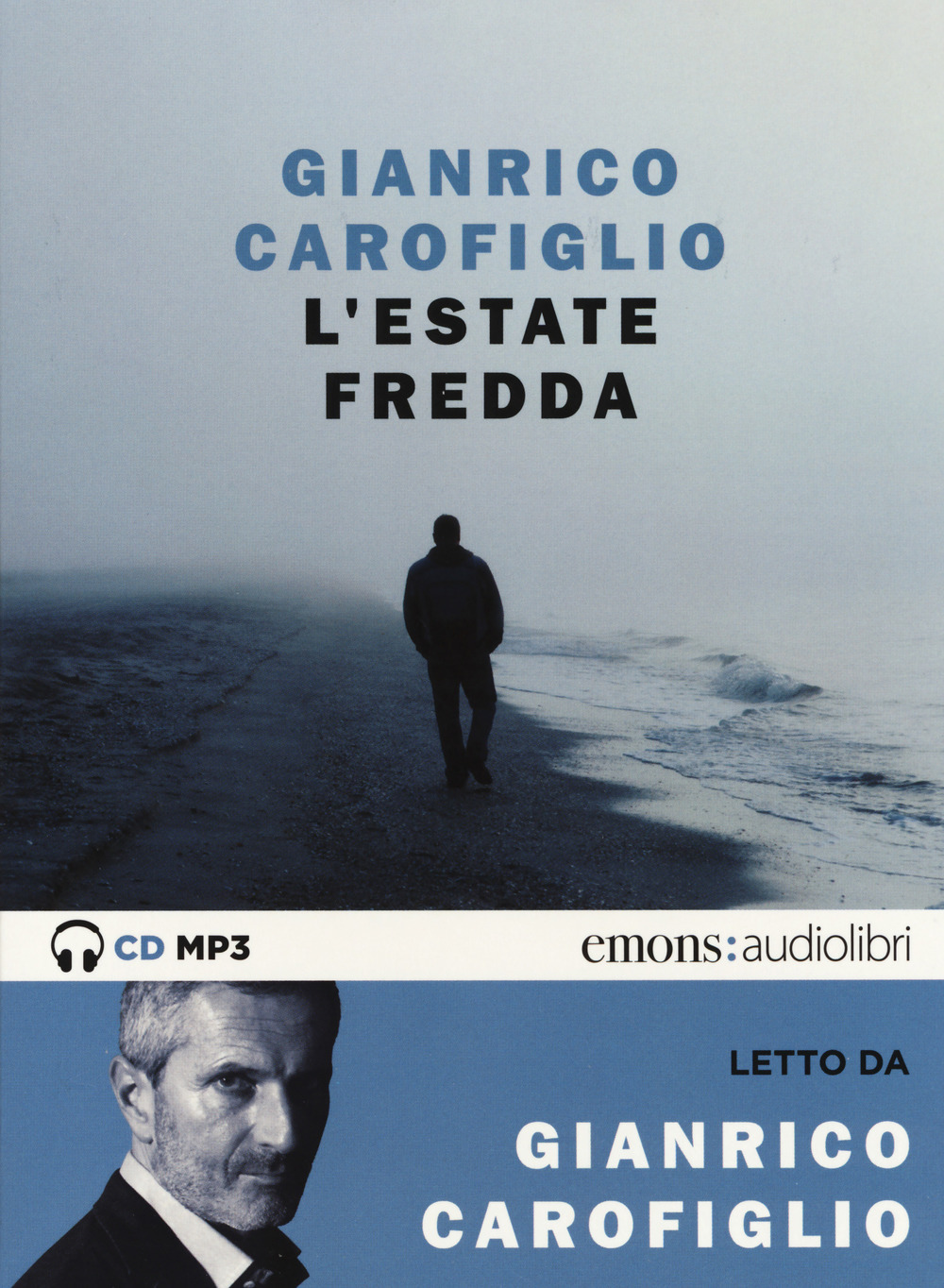 Image of L' estate fredda letta da Carofiglio Gianrico. Audiolibro. CD Audi..