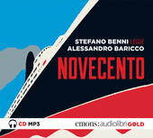 Novecento letto da Stefano Benni. Audiolibro. CD Audio formato MP3